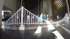 The Arup paper bridge