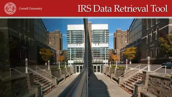 Irs Data Retrieval Tool Financial Aid