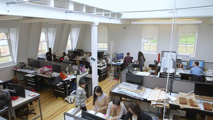 Architecture Studio Spaces | Cornell AAP