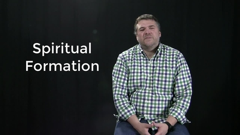 Thumbnail for entry John Drury- Spiritual Formation