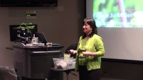 Thumbnail for entry Dr. Grace Miller - Fall 2013 Principium Faculty Lecture Series