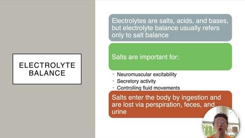 Thumbnail for entry Ch 26 V - Electrolyte Balance - Aldosterone