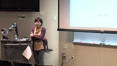 Thumbnail for entry Dr. Joy Tong - Spring 2013 Principium Faculty Lecture Series