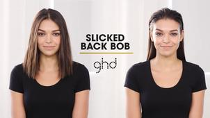 Slicked Back Short Hair Ghd Hairstyle Tutorial
