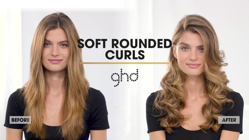 Ghd Hair Styles Stunning Rounded Curls  Ghd Hairstyle Tutorial