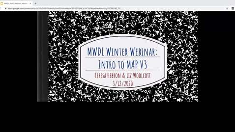 Thumbnail for entry MWDL Late Winter 2020 Webinar - Intro to New Metadata Application Profile V3