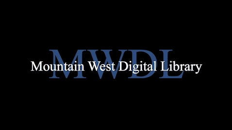 Thumbnail for entry MWDL Promotional Video - 2014