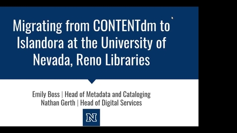 Thumbnail for entry Mountain West Digital Library - Spring 2019 Webinar