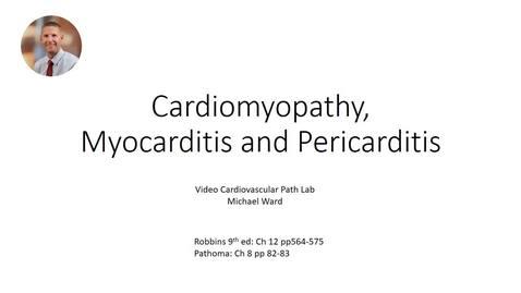Thumbnail for entry Cardiomyopathy,  Myocarditis, and Pericarditis