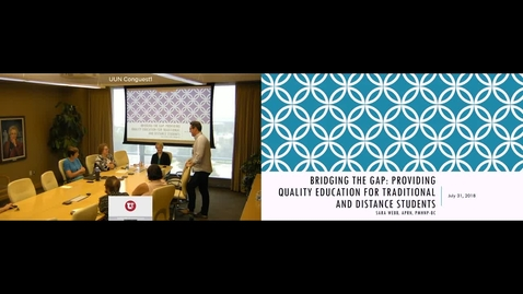 Thumbnail for entry Sara Webb Candidate Presentation 07/31/18