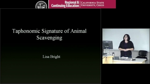 Thumbnail for entry Taphonomic Signature of Animal Scavenging