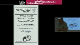 Thumbnail for entry WORLD WAR II, 1931-1945:  Locations, Images, and Words