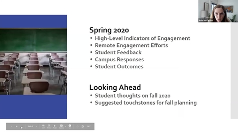 Thumbnail for entry Go Virtual Day 1  - Kate McCarthy  Student Engagement in Remote Learning