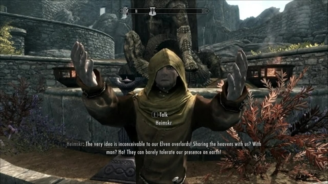 Thumbnail for entry Skyrim- Heimskr's speech