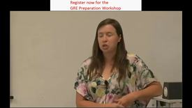 Thumbnail for entry GRE Math Prep Workshop Part 1
