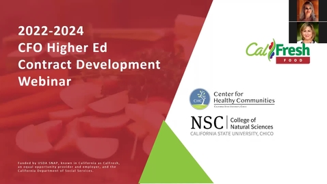 Thumbnail for entry 2022-2024 CFO Higher Ed Contract Development Webinar