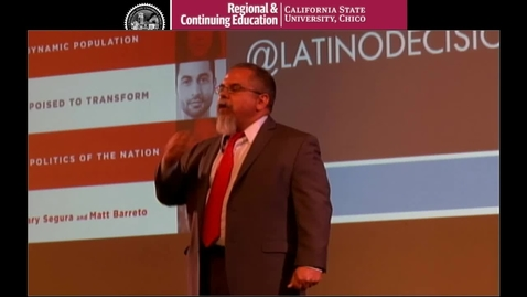 Thumbnail for entry The Future Is Ours: How Demographic Change and Latino Voters are Changing American Politics in 2016 and Beyond