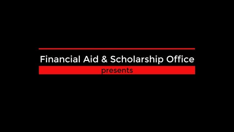 Thumbnail for entry Wildcat Scholarships - How to Apply