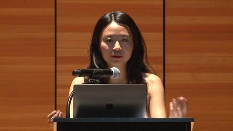 Thumbnail for entry Writer's Voice Angie Sijun Lou