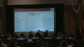 Thumbnail for entry Education Professionals Answer Credential Candidate Questions - Panel A