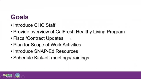 Thumbnail for entry CalFresh Healthy Living Onboarding Webinar 3-6-20