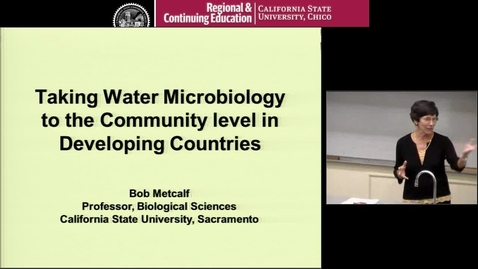 Thumbnail for entry Taking Water Microbiology to the Community Level in Developing Countries
