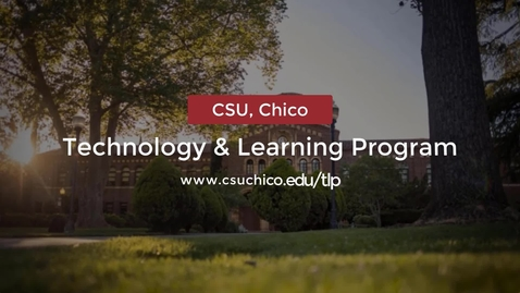 Thumbnail for entry Introducing Chico State's New Blackboard Course Template