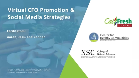 Thumbnail for entry Virtual CFO Promotion & Social Media Strategies Webinar