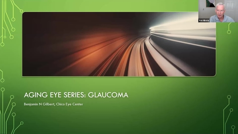 Thumbnail for entry The Aging Eye Series, Week 3: Glaucoma