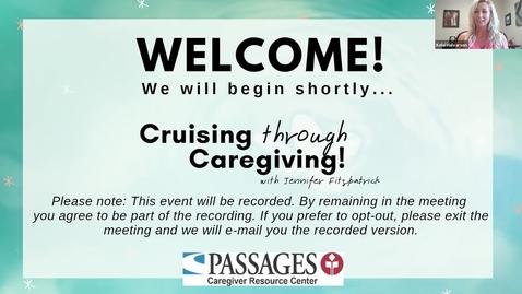 Thumbnail for entry Cruising Through Caregiving
