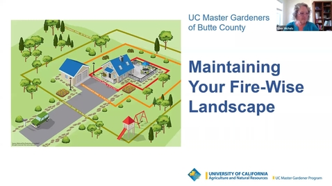 Thumbnail for entry Firewise Landscaping: Session 5