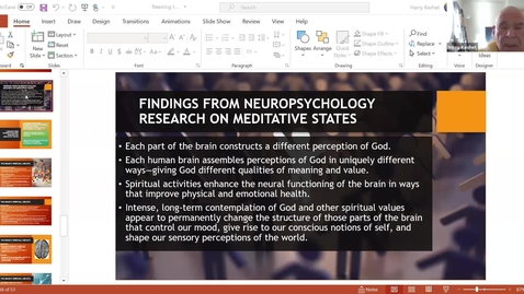 Thumbnail for entry Rewiring Your Brain for Spiritual & Personal Development:  Session 5