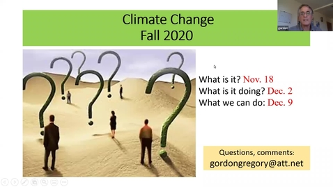 Thumbnail for entry Climate Change: Session 2