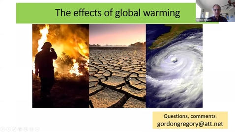 Thumbnail for entry Lecture 2:  Climate Change - The Effects of Global Warming