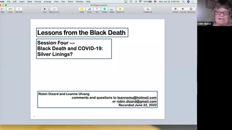 Thumbnail for entry Lessons from the Black Death