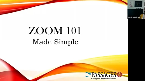 Thumbnail for entry ZOOM 101