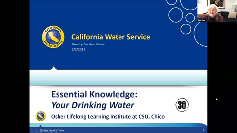 Thumbnail for entry Essential Knowledge: Your Drinking Water:  Session 1