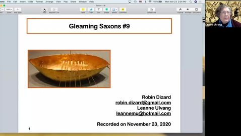 Thumbnail for entry Gleaming Saxons:  Session  9