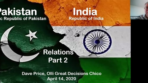 Thumbnail for entry India Pakistan Relations Great Decisions Class Pt 2 2020