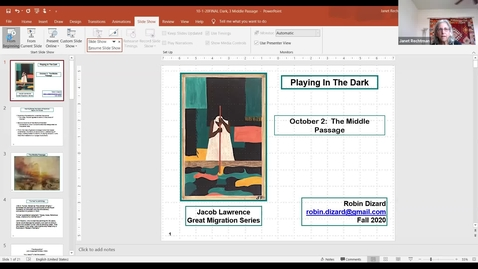 Thumbnail for entry Race in America: Playing in the Dark, Session 2