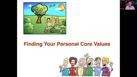 Thumbnail for entry Finding Your Personal Core Values: Summer'21_v3