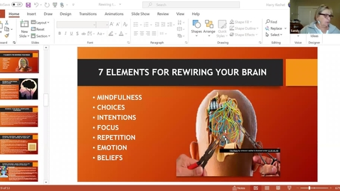 Thumbnail for entry Rewiring Your Brain for Spiritual & Personal Development: Session 4