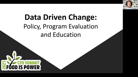 Thumbnail for entry Data Driven Changes: Policy, Program Evaluation, and Education