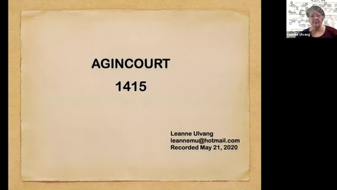 Thumbnail for entry Agincourt -- 1415