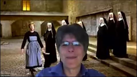 Thumbnail for entry Go Virtual Day 3 - Kathy Intro and Raffle - Not a great clip