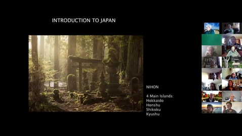 Thumbnail for entry Arts & People of Japan: Session 1