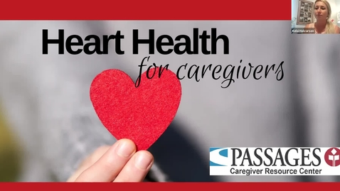 Thumbnail for entry Hearth Health for Caregivers