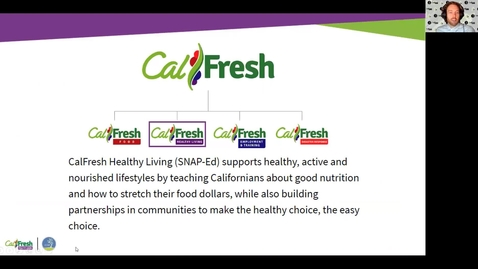 Thumbnail for entry Complementary CalFresh Food Programs: CalFresh Healthy Living