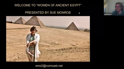 Thumbnail for entry Women of Ancient Egypt: Session 1