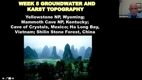 Thumbnail for entry Geological Wonders: Session 5, Groundwater & Karst Topography